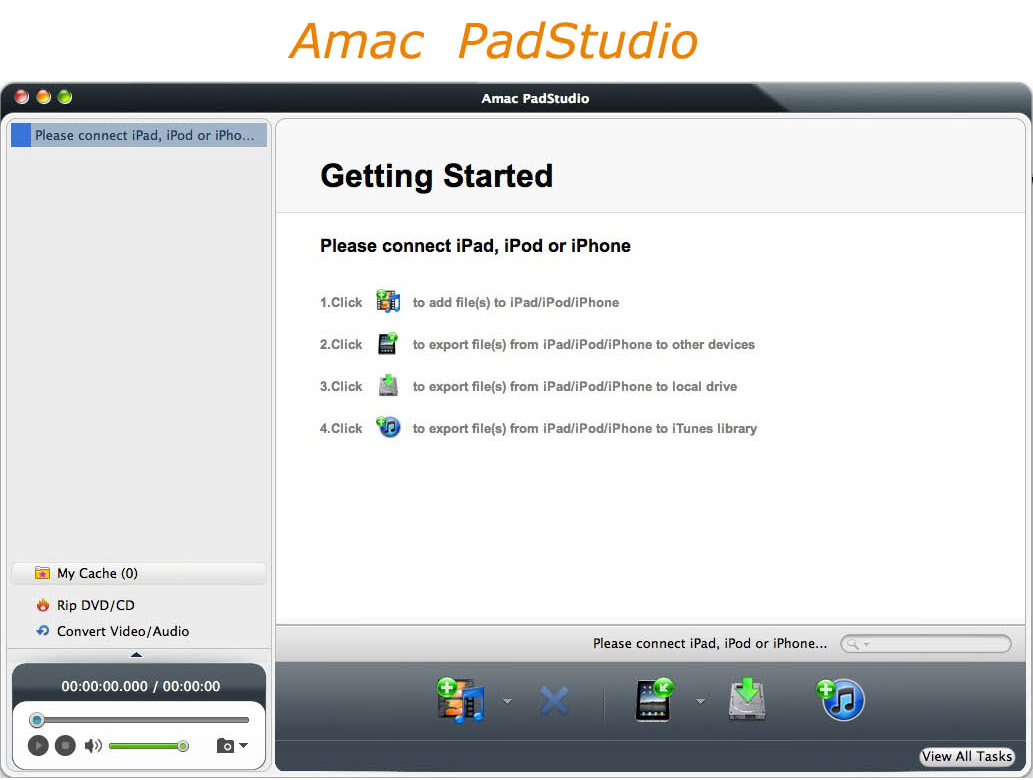 Amac PadStudio Screenshot