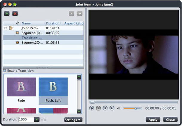 Amac VideoStudio, Video Software Screenshot