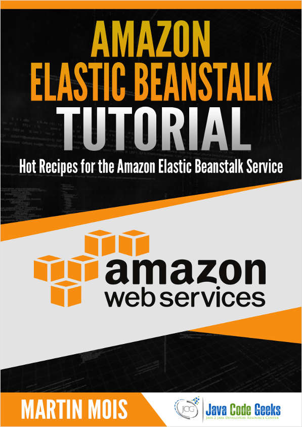 Amazon Elastic Beanstalk Tutorial Screenshot