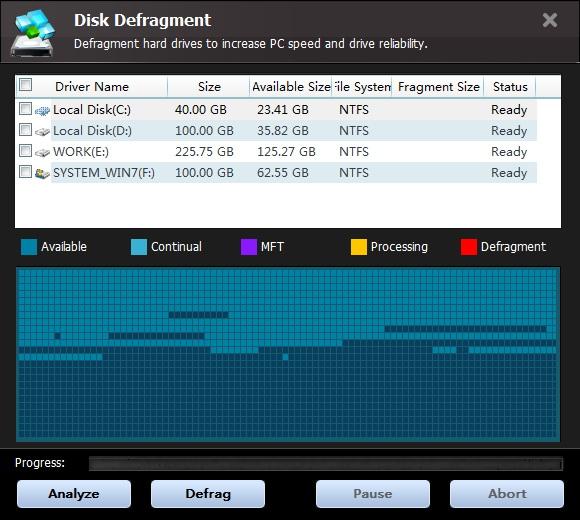 System Tweaker Software Screenshot