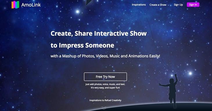 AmoLink Mobile Content Creator Screenshot