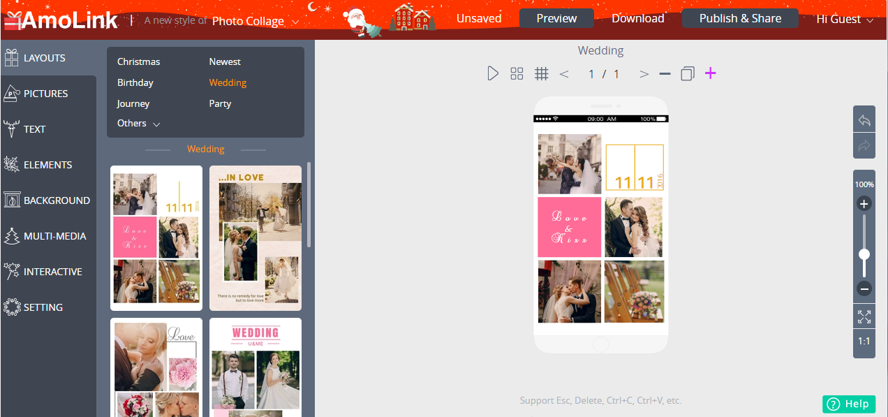 AmoLink Mobile Content Creator, Misc & Fun Graphics Software Screenshot