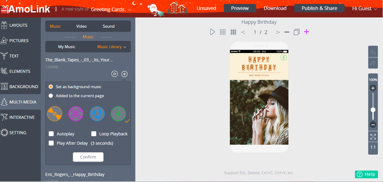 Misc & Fun Graphics Software, AmoLink Mobile Content Creator Screenshot