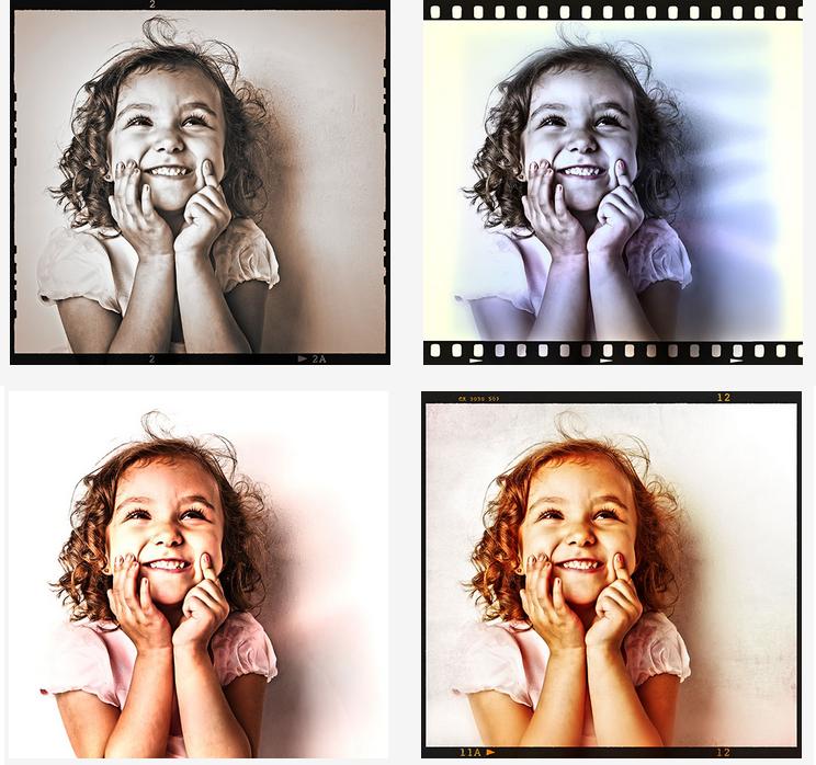 ANALOG projects 3, Photo Editing Software Screenshot