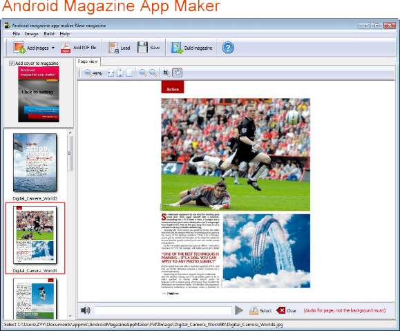 Android Book/Magazine App Maker Bundle Screenshot