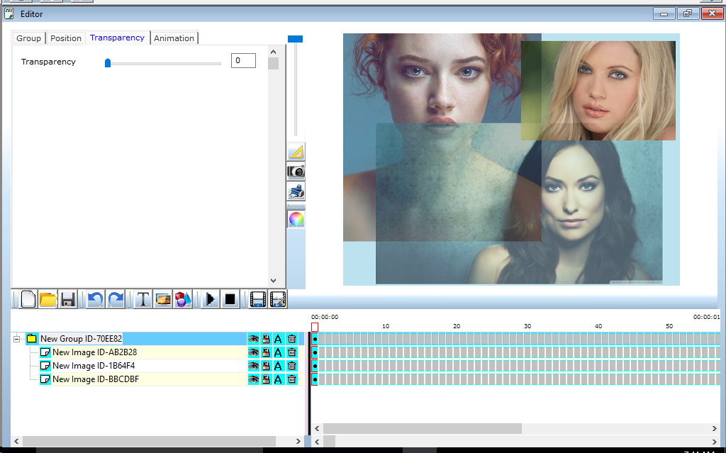 Animated Banner Maker, Animation Software Screenshot