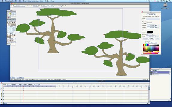 Anime Studio 5 Screenshot
