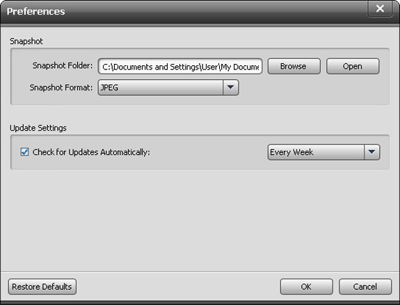 Video Software, AnyMP4 Blu-ray Player Screenshot