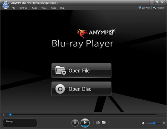 AnyMP4 Blu-ray Player Screenshot