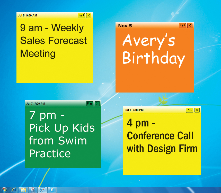 AnyTime Organizer 15 Standard Screenshot