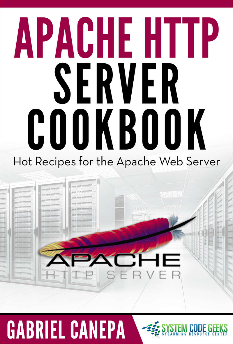 Apache HTTP Server Cookbook Screenshot
