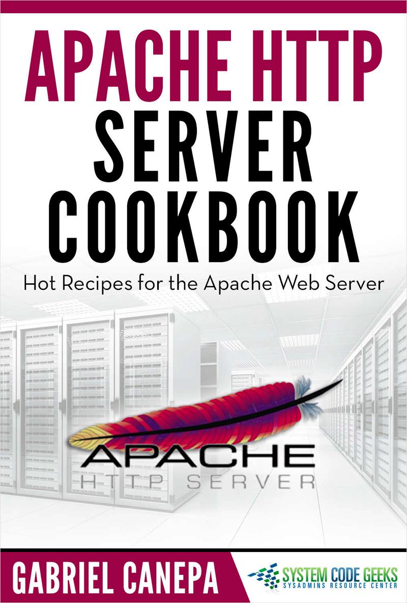 Apache HTTP Server Cookbook Screenshot