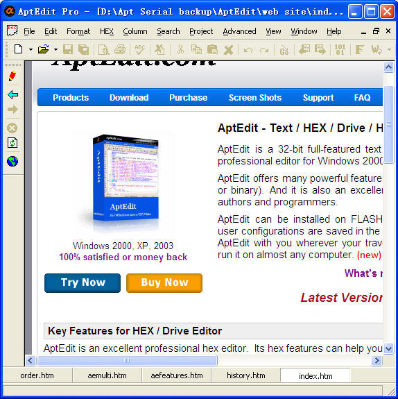 AptEdit Pro Screenshot