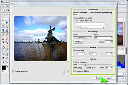 PhotoStudio 6, Photo Editing Software Screenshot