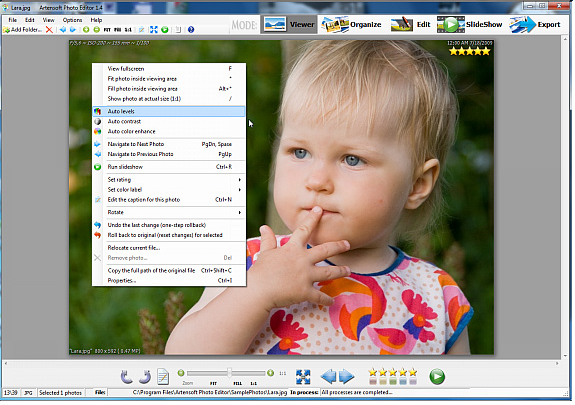 Artensoft Photo Editor Screenshot 11