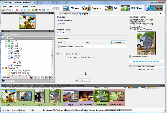 Artensoft Photo Editor Screenshot 9