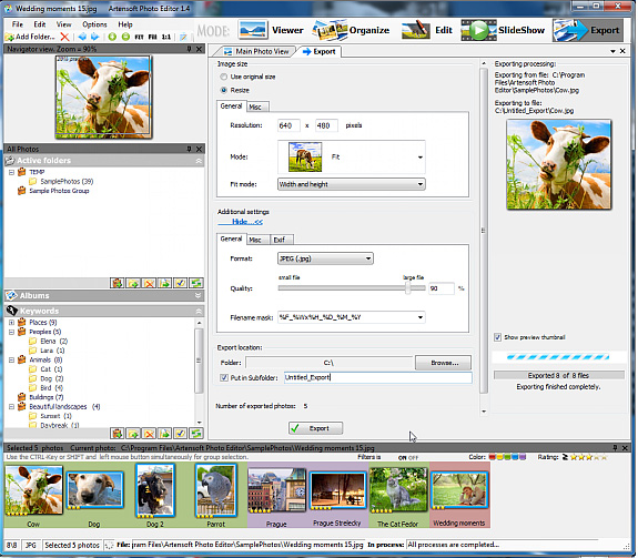 Artensoft Photo Editor Screenshot 10