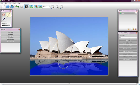 Animation Software, ArtStudio Screenshot