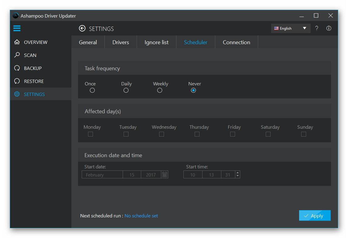 Hobby, Educational & Fun Software, Ashampoo Driver Updater Screenshot
