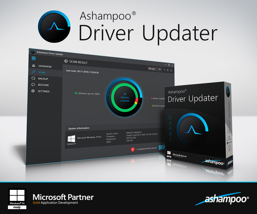Ashampoo Driver Updater Screenshot