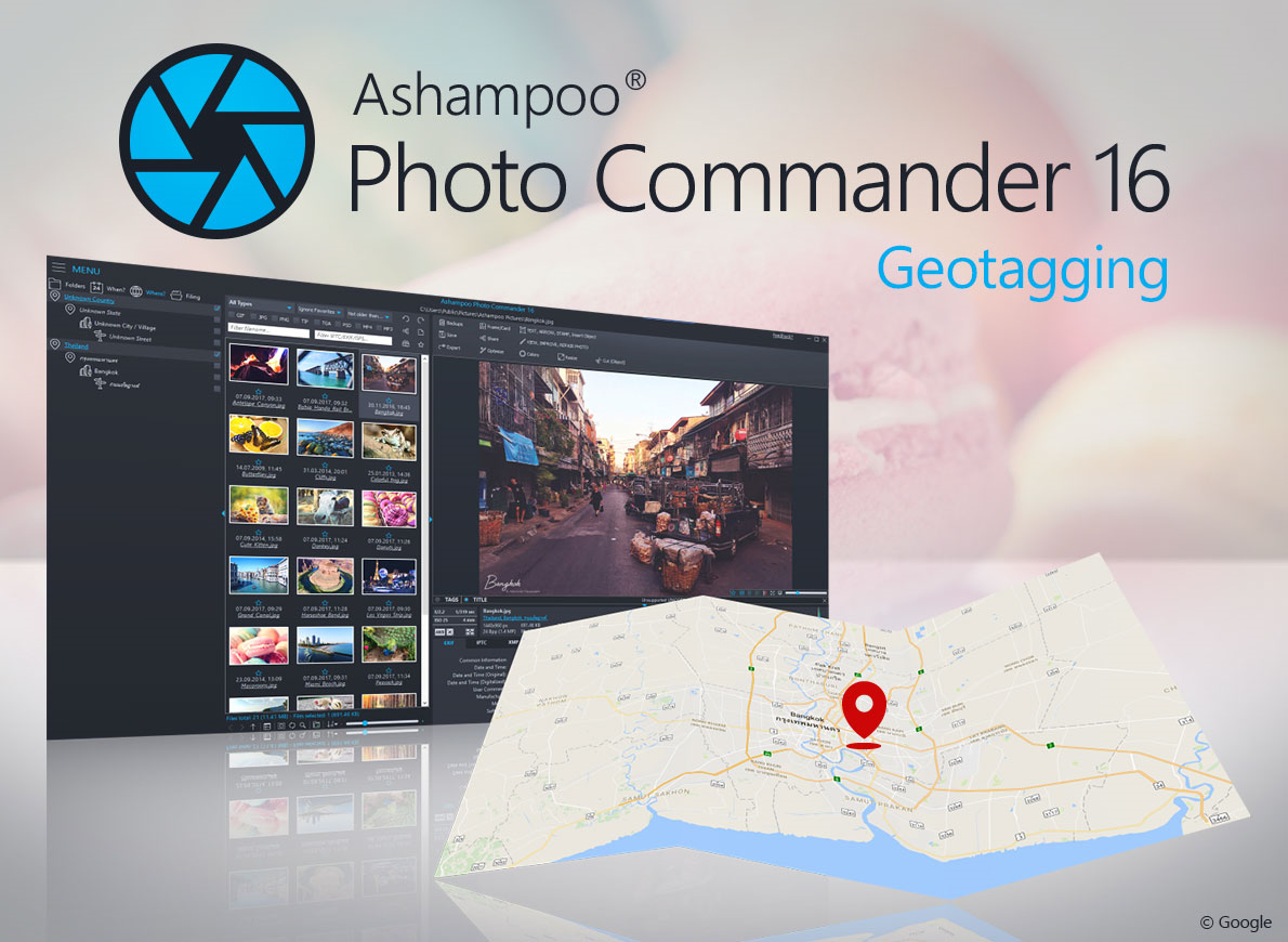 Ashampoo Photo Commander, Design, Photo & Graphics Software Screenshot