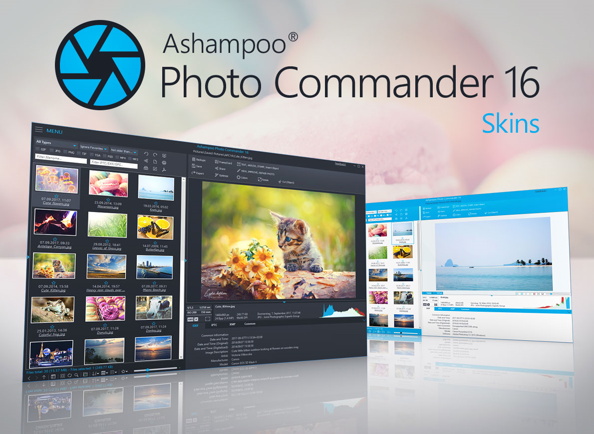 Image Viewer Software, Ashampoo Photo Commander Screenshot