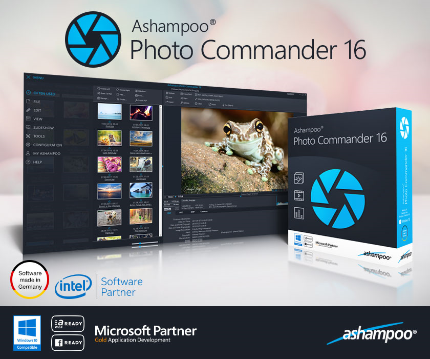 Ashampoo Photo Commander Screenshot
