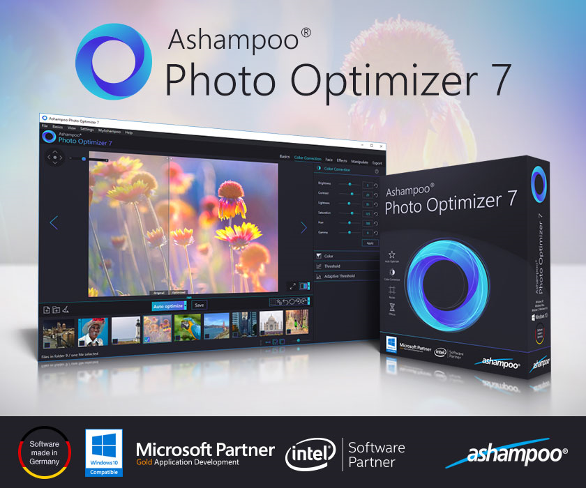 Ashampoo Photo Optimizer Screenshot