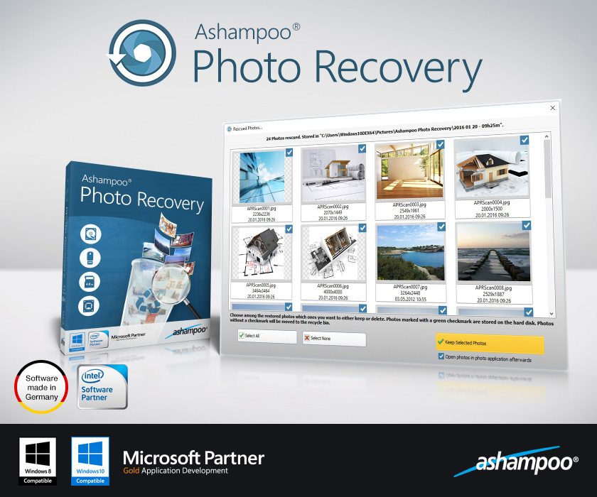 Ashampoo  Photo Recovery Screenshot