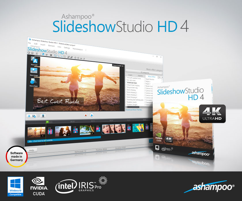 Ashampoo Slideshow Studio HD 4 Screenshot