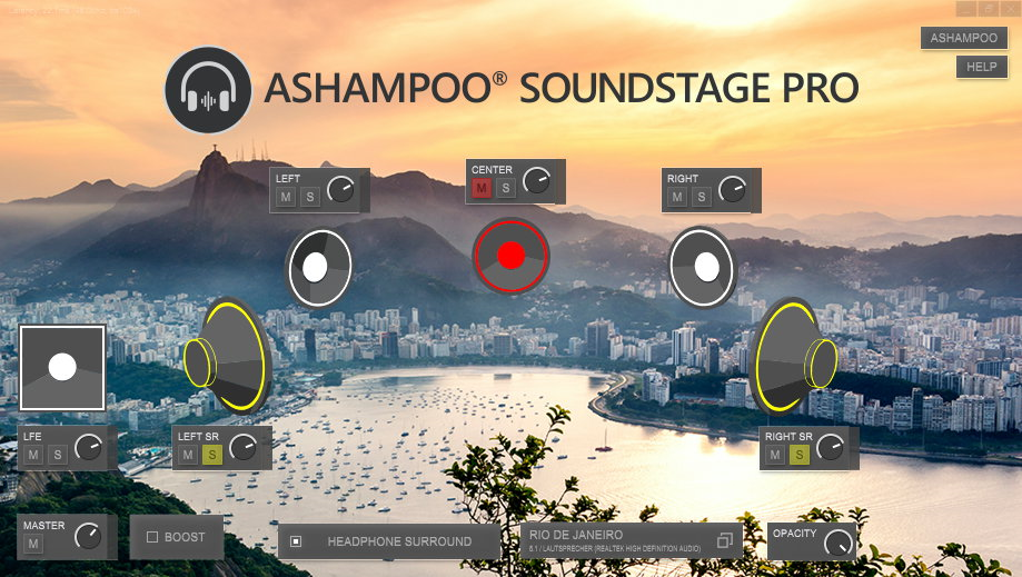 Audio Conversion Software, Ashampoo Soundstage Pro Screenshot