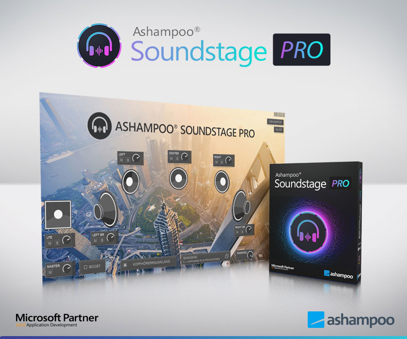 Audio Software, Ashampoo Soundstage Pro Screenshot