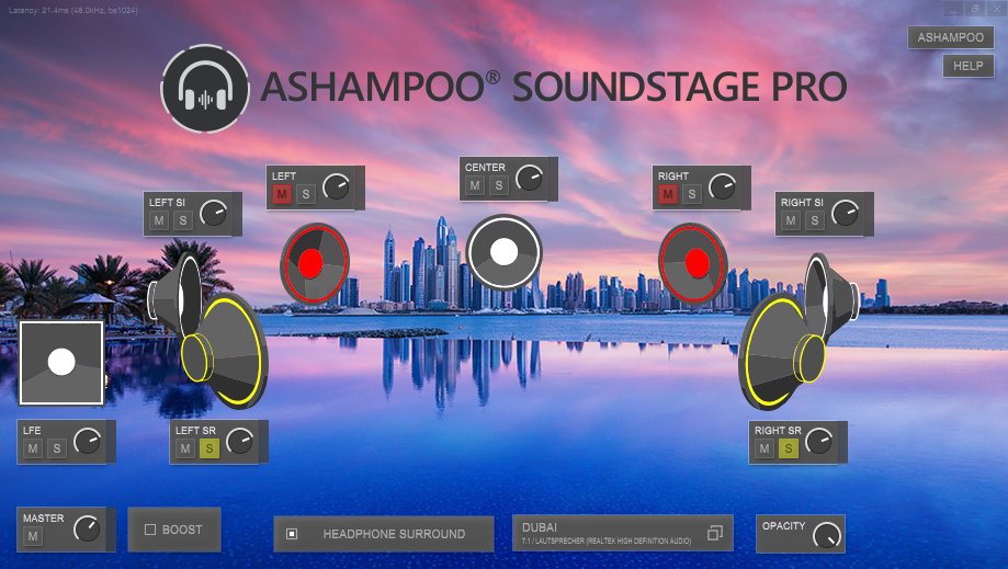 Ashampoo Soundstage Pro, Audio Conversion Software Screenshot