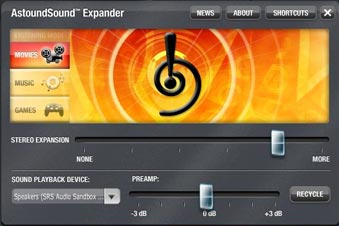 AstoundSound Expander 3.0 Screenshot