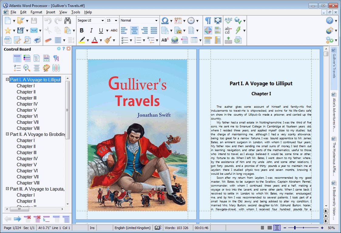 Atlantis Word Processor Screenshot 9
