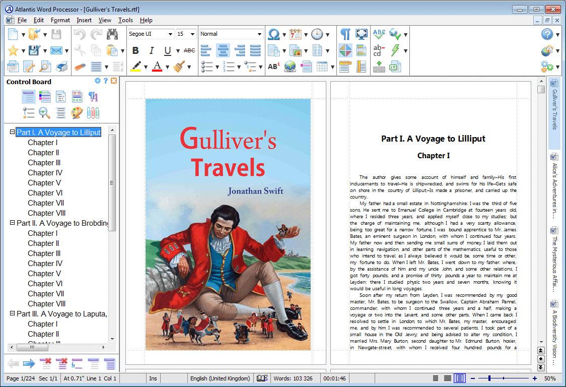 Atlantis Word Processor Screenshot 8