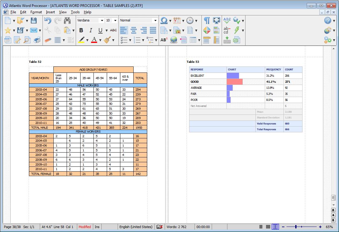 Business & Finance Software, Word Processing Software Screenshot