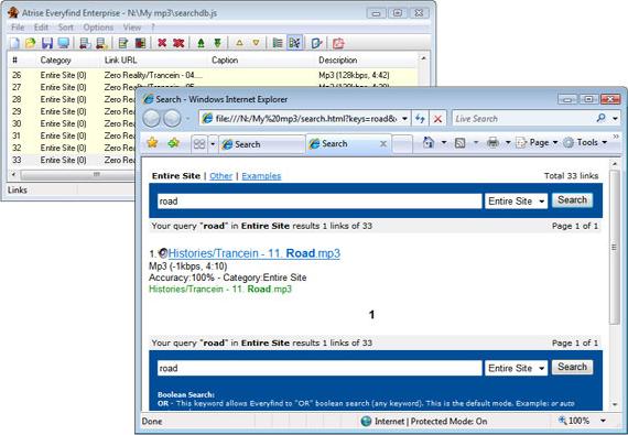 Atrise Everyfind Enterprise, Development Software Screenshot