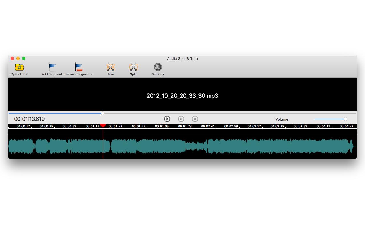 Audio Split & Trim Screenshot