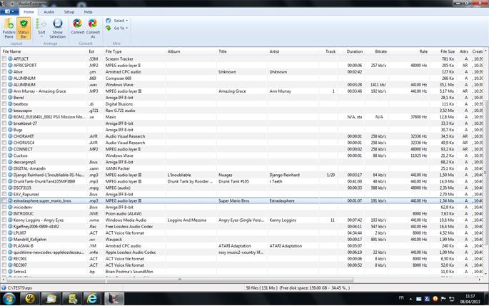 AudioKonvertor Screenshot