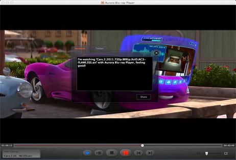 Aurora Blu-ray Player, Video Player Software Screenshot