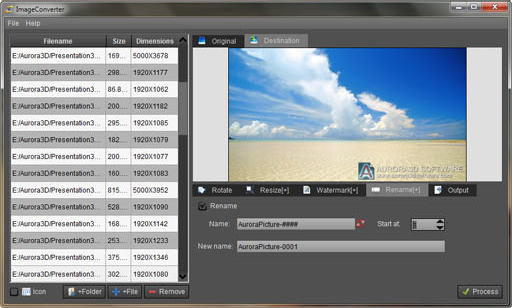 Batch Image Software, ImageConverterPro Screenshot