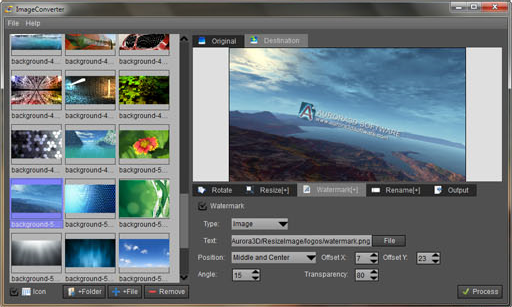 ImageConverterPro, Design, Photo & Graphics Software Screenshot