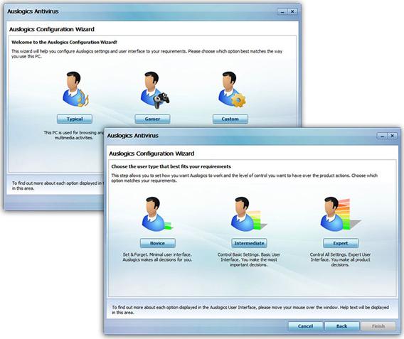 Auslogics Antivirus 2010, Security Software, Antivirus Software Screenshot