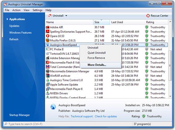 Auslogics BoostSpeed v5 Screenshot 15