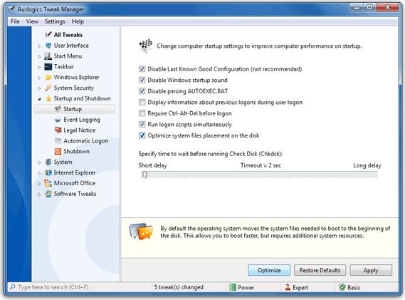 Auslogics BoostSpeed v5 Screenshot 9