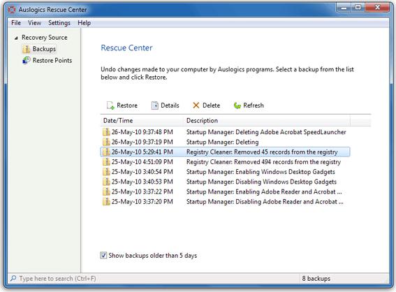 Auslogics BoostSpeed v5 Screenshot 19