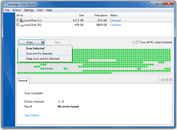 Auslogics BoostSpeed v5, PC Optimization Software Screenshot