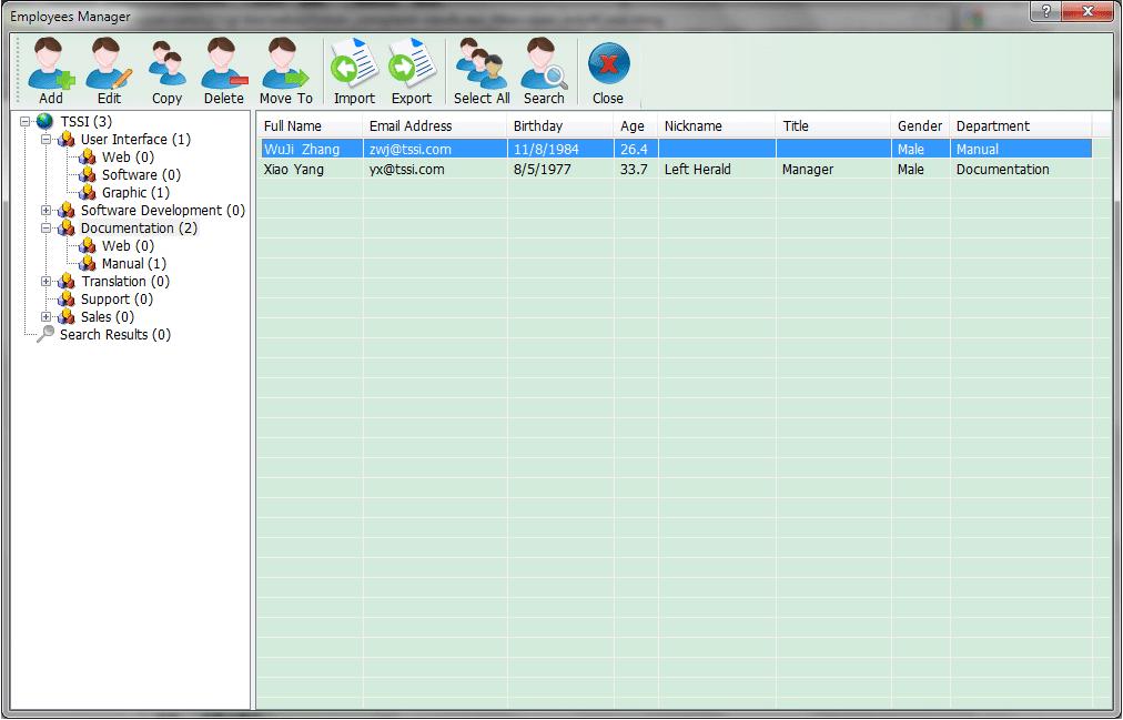Internet Software, Email Tools Software Screenshot