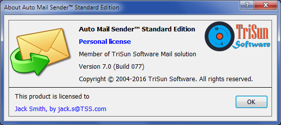 Auto Mail Sender™ Standard Edition Screenshot 12